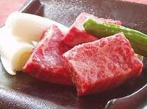 信州牛と松本一本ねぎの大名かわら焼