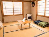 民家を改装した別館の和室(2F)です。