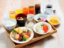 朝食ビュッフェ(和食盛り付け例)