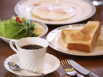 ●洋朝食 洋朝食プレート。※写真はイメージ