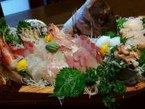お腹も心も満腹に!4つの特典付き☆漁師が7つの海の福を盛る!七福盛会席&新鮮あわびグラタンプラン
