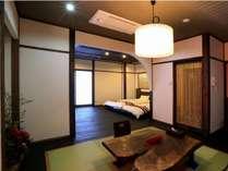 露天風呂付き特別客室401号室 お部屋からの海絶景をお楽しみください
