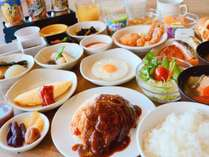 ◆【朝食】和洋バイキング朝食(朝食の内容は季節等により異なります)