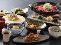 北信濃のふるさとの味覚が、料理長の技と出会う。野沢グランドホテルオリジナル会席料理(例)