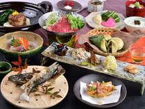 信州プレミアム牛柳川牛鍋をメインとした「旬のおごっつぉ ふるさと料理」全9品