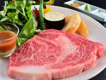 信州牛200g巨大ステーキ