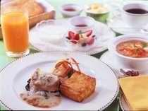 【朝食】自慢のフレンチトーストをはじめ、こだわりの「ヘヴンリータイム」 ⇒プラン専用・ルームサービス
