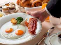【朝食】アメリカンブレックファスト(イメージ)⇒「ラ・ベル・エポック」