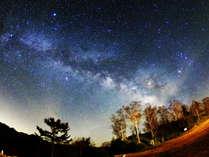 *当館から見える星空/晴れていれば見られる天の川