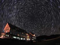 *当館から見える星空/日本で有数の星空の聖地