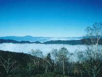 *雲海の景色/標高1,918mの宿ならではの絶景