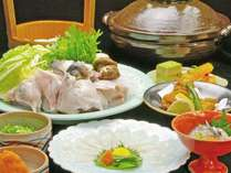 【冬のてっちりコース】冬の味覚 新鮮なとらふぐを様々なお料理でご堪能いただけます♪