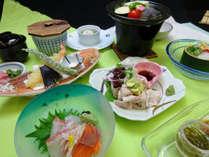【夏の御室コース】当館の一番基本的な夕食プランです