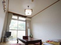 *新館和室6畳/お部屋は清潔に手入れしています☆