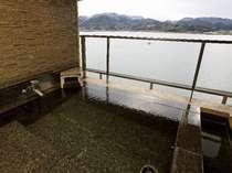 ☆☆湖上閣☆☆  【特別室】 お部屋の露天風呂は他に遮るもののない絶景をどうぞ♪