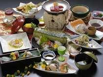 ■■夕食例■■ 【まるごと鳥取会席】 鳥取ならではの自慢の食材をご用意致しました!