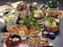 ■■夕食例■■ 【カニフルコース】 山陰の冬の味覚、蟹づくし会席♪