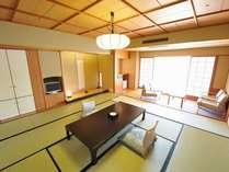 ◎湖上閣◎和室一例:お部屋から東郷湖がご覧頂けます