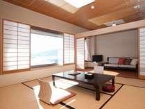 ◆対水閣:標準ルーム◆和洋室:8畳+ツインベッド2019年一部リニューアル