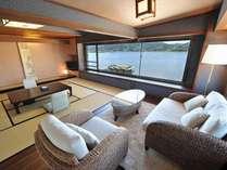 ◇対水閣:モダンルーム◇【客室一例】モダンでお洒落なソファコーナーでリラックス♪