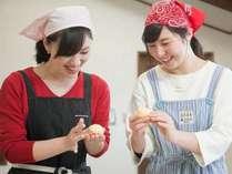 パン作り(2)こねて、形を作って、美味しくできるかな?