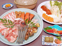 【選べるお鍋】冬は郷土料理で温まろ♪鴨鍋or手力鍋☆