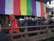 長谷寺《だだおし》大和の地に春をよぶ一大火祭り。2月14日開催です。