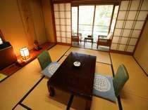 客室(8畳、トイレは各階にございます お風呂は大浴場もしくは貸切風呂をご利用ください)