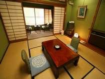 客室(8畳、トイレは各階にございます お風呂は大浴場もしくは貸切風呂をご利用ください))