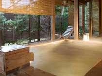 ■貸切風呂 鬼燈亭■*個室貸切露天風呂『森のお風呂・鬼燈亭』
