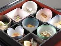 ■お食事処 山餐(さんさん)亭■小鉢のセミブッフェ 一例