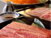 ■お食事処 都味喜(つみき)■での牛しゃぶ鍋イメージ