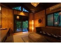 ■貸切風呂 あけび■脱衣所冷暖房完備