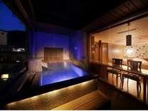 ■展望風呂付コーナースウィートふうわり■2014年春リニューアルオープンの展望風呂付客室。
