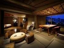 ■展望風呂付ふうわりDタイプ■2014年春リニューアルオープンの展望風呂付客室。客室イメージ