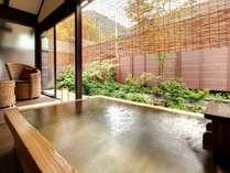 ■貸切風呂 鬼燈亭■当館から徒歩3~4分の人気の貸切風呂。源泉掛け流しです。