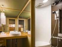 ■ふうわり&はんなり&ゆくり■2015年「リニューアルオープンの新客室にはシャワールーム&洗面台