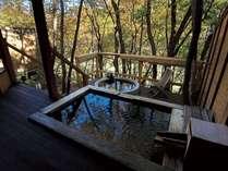 秋イメージ(2)離れの貸切風呂「あけびの湯」※11月中旬~下旬