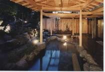 庭園露天風呂の画像