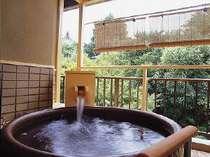 露天風呂付和風ツイン露天風呂の画像