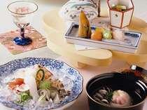 季節の会席料理イメージの画像