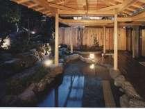 大浴場庭園露天風呂の画像