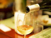 *【夕食一例】美味しいお食事にワインも進みます♪