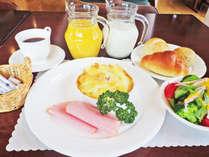 *【朝食例】朝からしっかり♪栄養バランスのとれたお食事です。