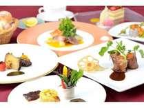 【グルメプラン】贅沢な食事を楽しむ♪シェフ特選ディナー『恵み』