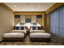 プレミアムツインダブルサイズのベッド(1390*1960*210)×2