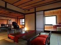 5階古民家風特別室の紅 雪】の客室客室