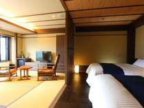 29年7月15日オープン半露天風呂付和洋室客室 【 青峰 】