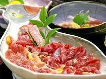 ■きじ肉(一例)■料理旅館のこだわりが詰まったきじ料理のを存分にご堪能下さい。