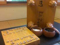 【対局室◆貸切無料】最大22.5h利用OK♪囲碁・将棋を専用ルームで!<季節会席>